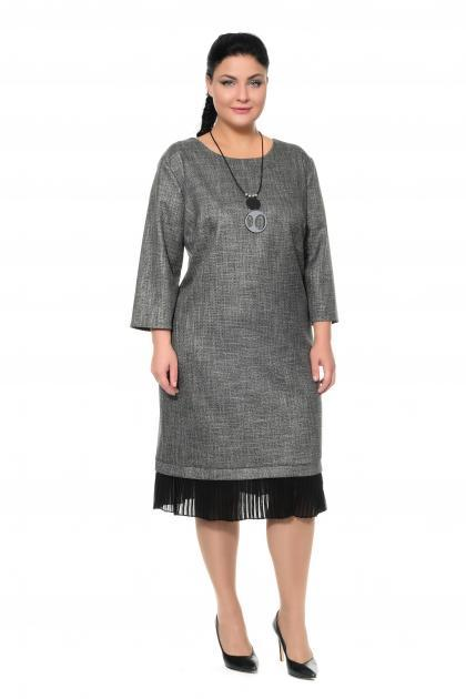Артикул 302018 - платье большого размера
