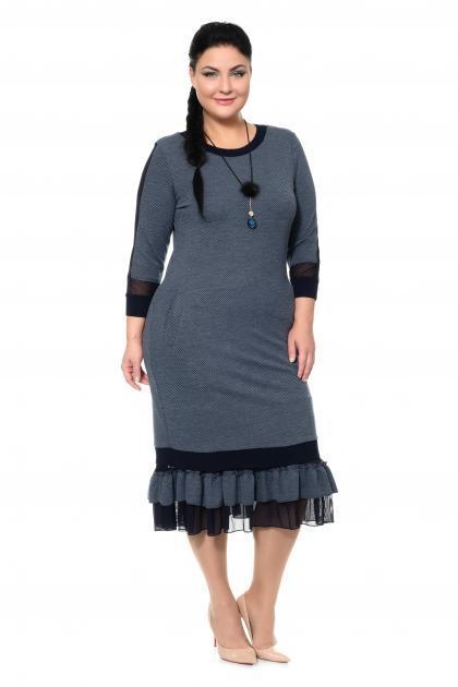 Арт. 335411 - Платье с сорочкой