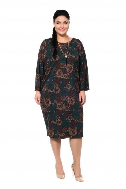 Артикул 307260 - платье большого размера