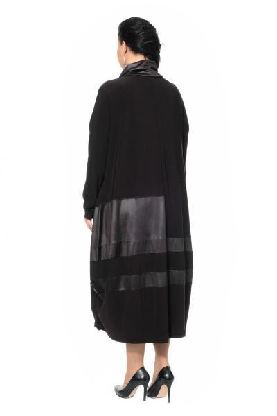 Артикул 430094 - платье большого размера - вид сзади