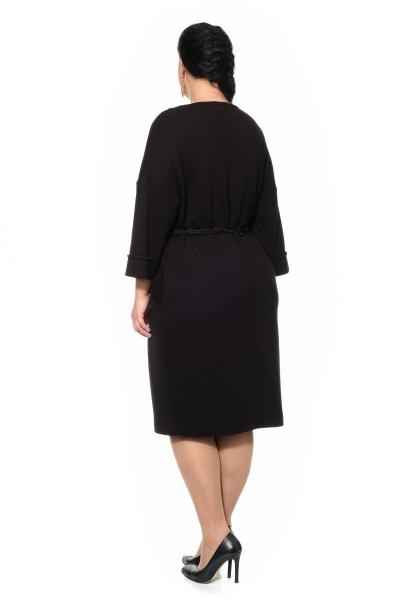 Артикул 430035 - платье большого размера - вид сзади