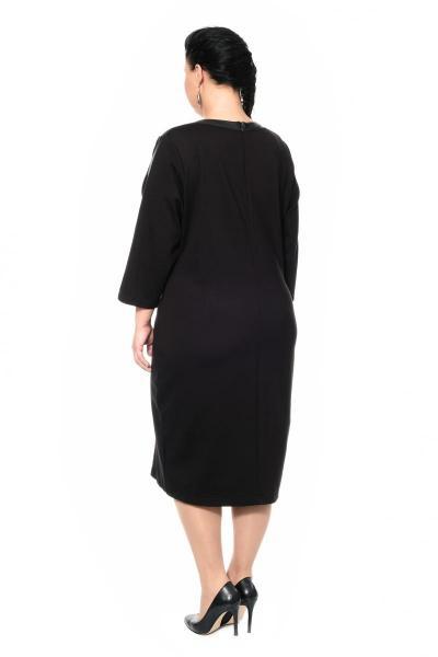 Артикул 300176 - платье большого размера - вид сзади