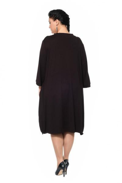 Артикул 300563 - платье большого размера - вид сзади