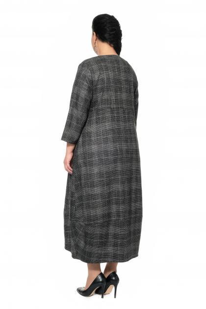 Артикул 301605 - платье большого размера - вид сзади