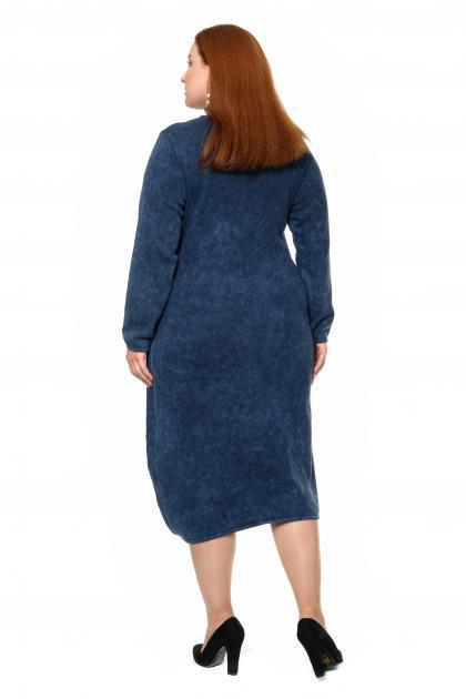 Артикул 300973 - платье большого размера - вид сзади