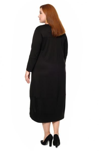Артикул 301617 - платье большого размера - вид сзади