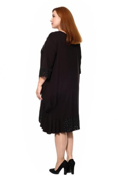 Артикул 300564 - платье большого размера - вид сзади
