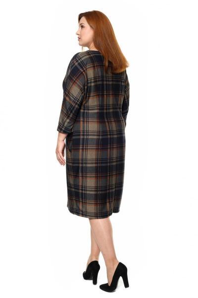 Артикул 305504 - платье большого размера - вид сзади