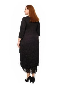Артикул 306015 - платье большого размера - вид сзади