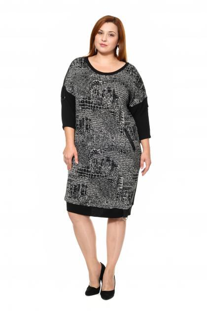 Артикул 335418 - платье большого размера