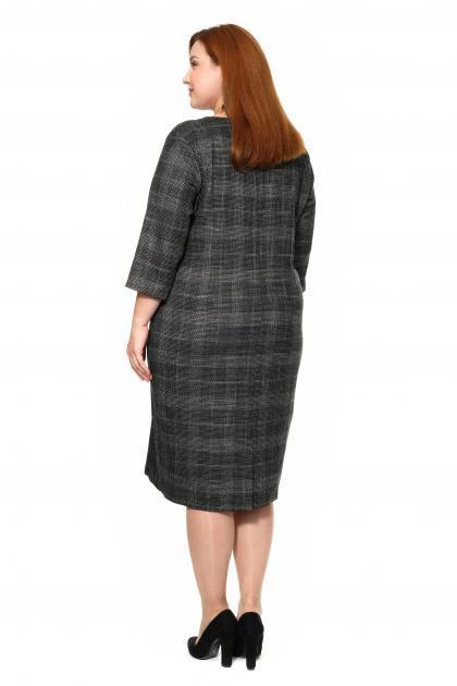 Артикул 304053 - платье большого размера - вид сзади