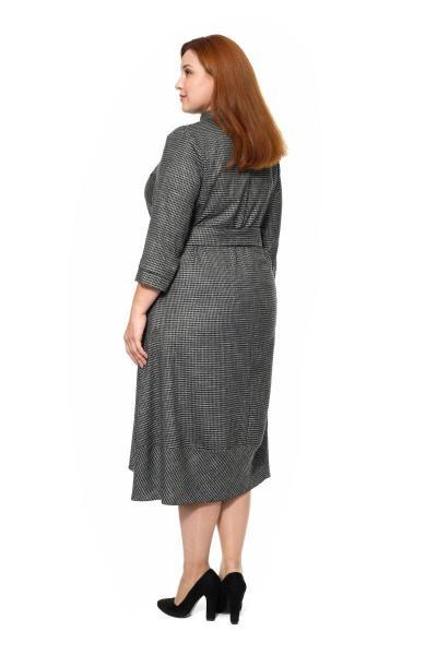 Артикул 309206 - платье большого размера - вид сзади