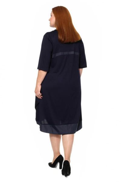Артикул 307090 - платье большого размера - вид сзади