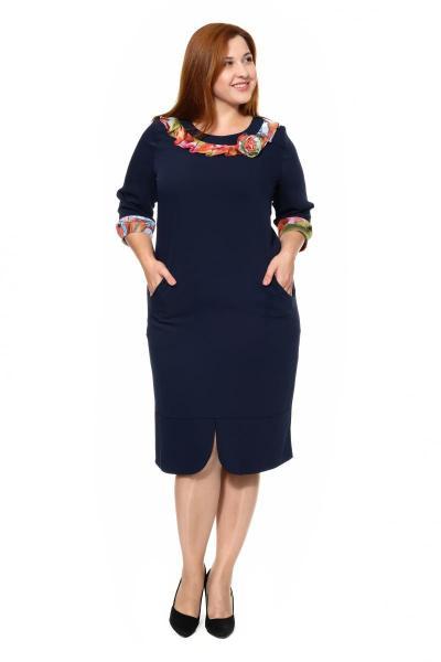 Артикул 307007-2 - платье большого размера