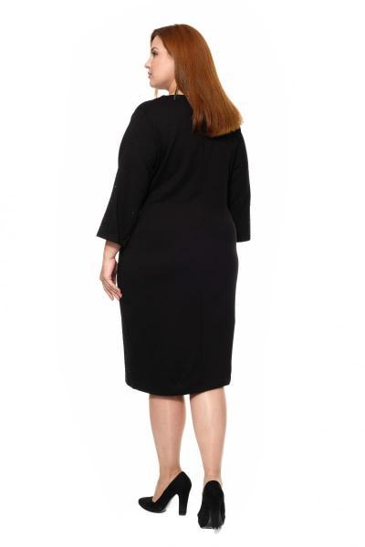 Артикул 300172 - платье большого размера - вид сзади