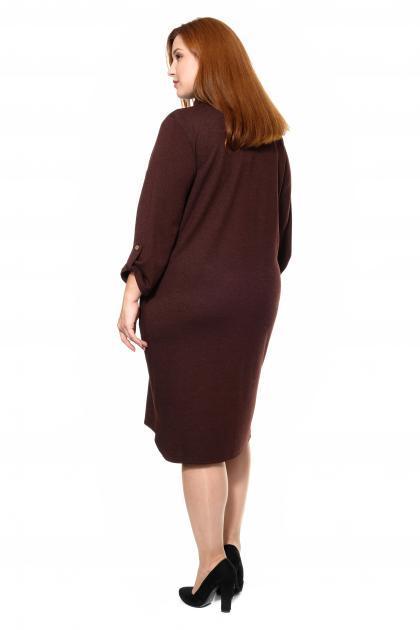 Артикул 307226 - платье большого размера - вид сзади