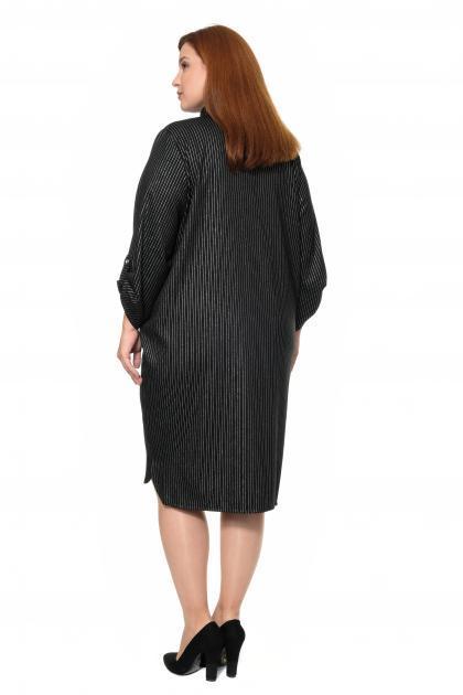 Артикул 307701 - платье большого размера - вид сзади