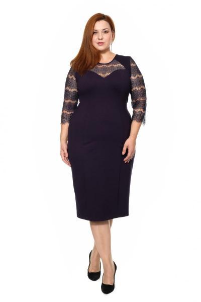 Артикул 17348 - платье большого размера