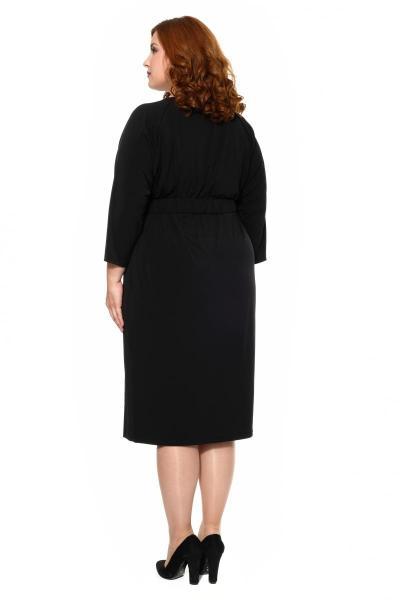 Артикул 16384 - платье большого размера - вид сзади