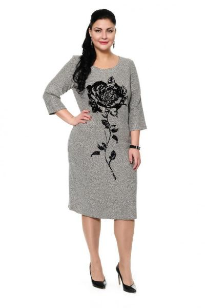 Артикул 318300 - платье большого размера