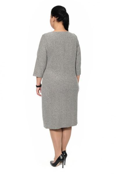 Артикул 318300 - платье большого размера - вид сзади