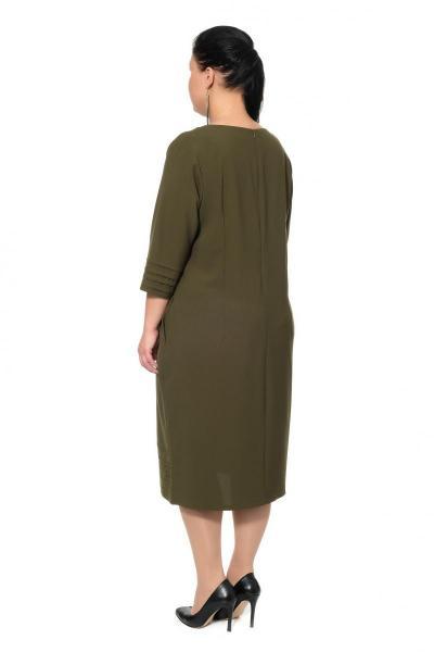 Артикул 307003 - платье большого размера - вид сзади