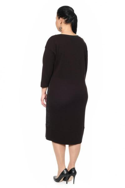 Артикул 318467 - платье большого размера - вид сзади
