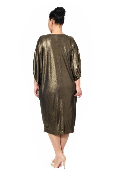 Артикул 17352 - платье большого размера - вид сзади