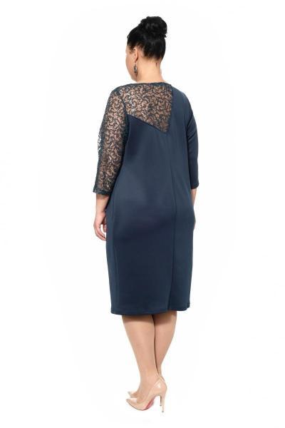 Артикул 17353 - платье большого размера - вид сзади