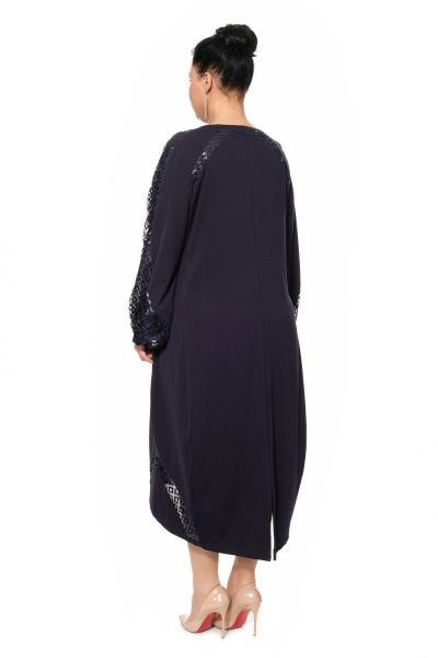 Артикул 17354 - платье большого размера - вид сзади