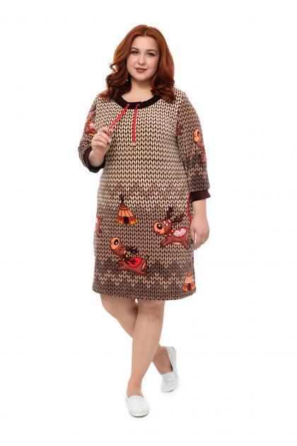 Арт. 210 - Платье домашнее