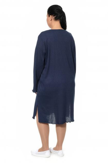 Артикул 300021 - платье домашнее большого размера - вид сзади