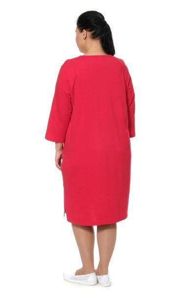 Артикул 300022 - платье домашнее большого размера - вид сзади