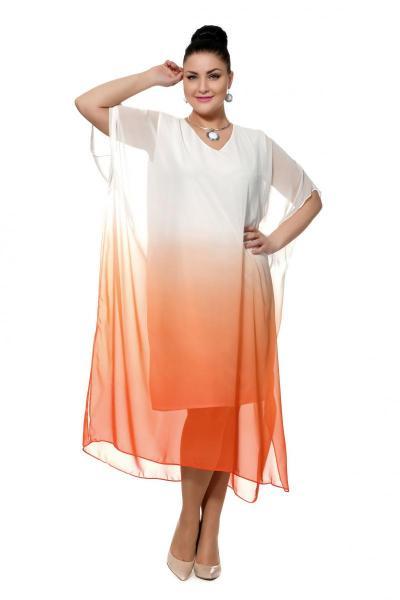 Артикул 310041 - платье пляжное большого размера