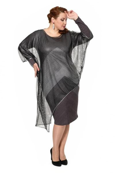 Арт. 907053 - Платье с накидкой