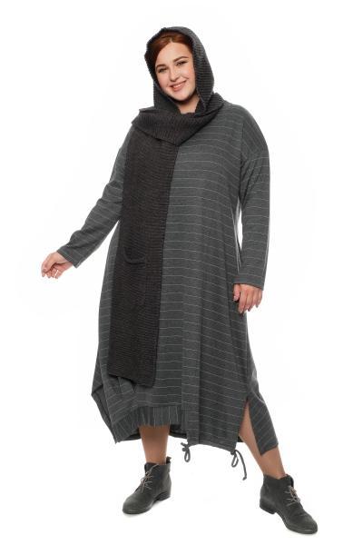 Арт. 604390 - платье с шарфом