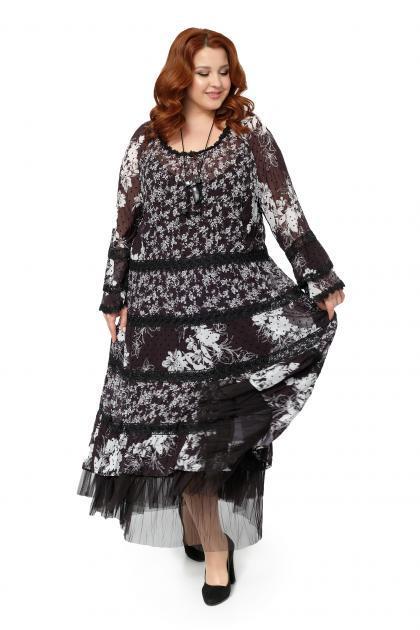 Арт. 506663 - Платье с сорочкой