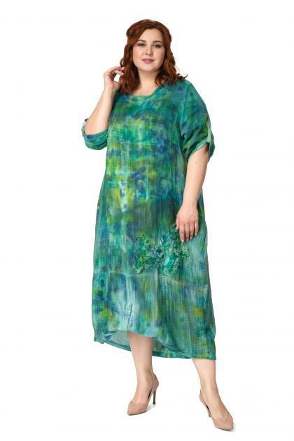 Арт. 504096 - Платье с сорочкой
