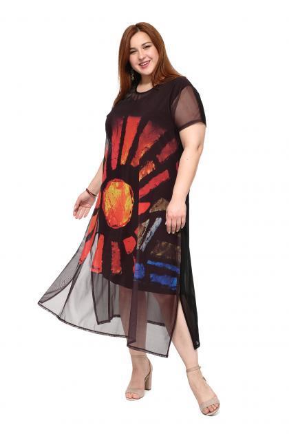 Арт. 508104 - платье с сорочкой