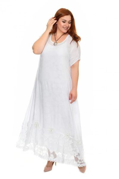 Арт. 400577 - Платье с сорочкой