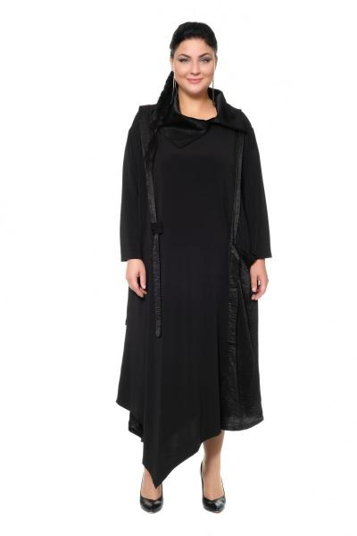 Артикул 430109 - платье с сорочкой большого размера