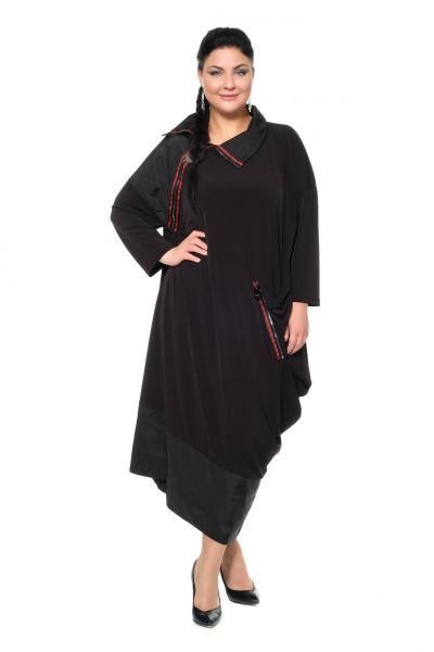 Артикул 430105 - платье с сорочкой большого размера