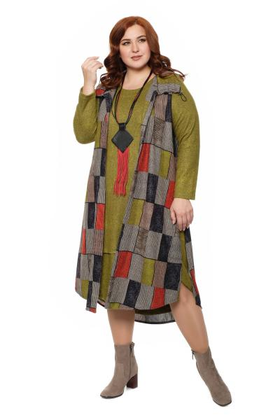 Платье с жилетом за 8950 рублей