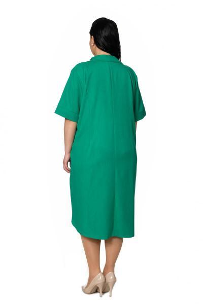 Артикул 305062 - платье большого размера - вид сзади