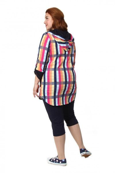 Артикул 230 - рубашка  большого размера - вид сзади