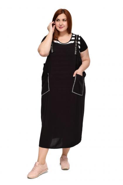 cd1459d99 Трикотажные платья больших размеров для полных женщин в Москве ...