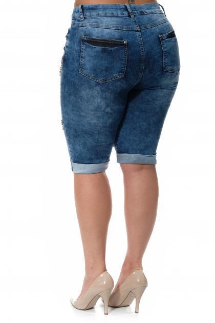 Артикул 304608 - шорты большого размера - вид сзади