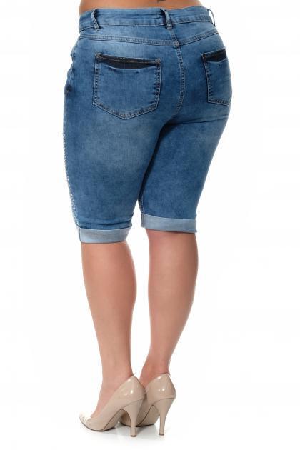 Артикул 304615 - шорты большого размера - вид сзади