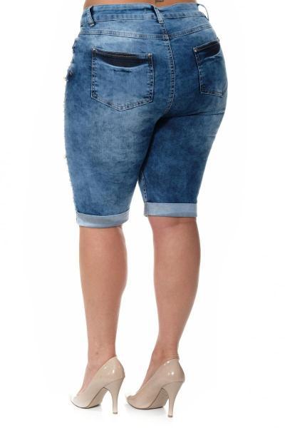 Артикул 304609 - шорты большого размера - вид сзади