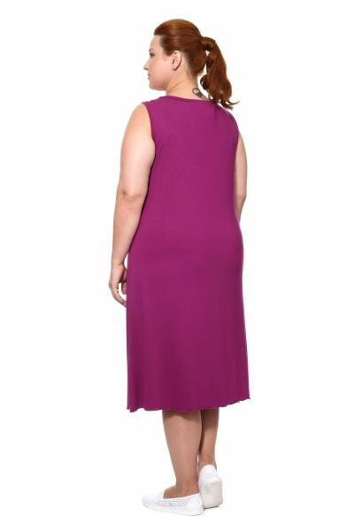 Артикул 15322 - сорочка большого размера - вид сзади
